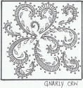 Gnarly Zentangle Pattern